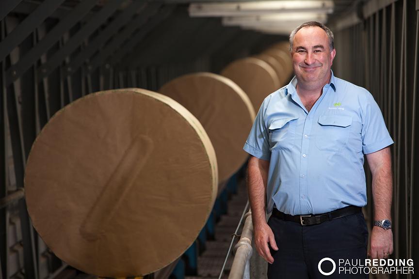 Norske Skog Paper Mill Boyer Tasmania by Hobart Industrial Photographer – Paul Redding