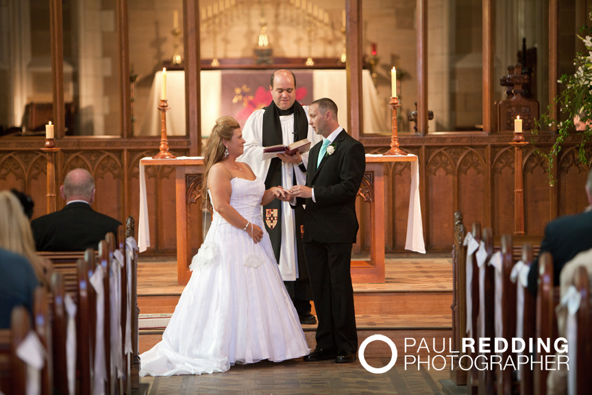 Photography by wedding photographer, Paul Redding Hobart
