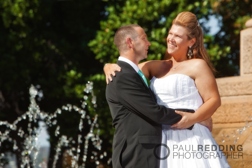 Wedding photography St Davids Park, Hobart Tasmania.