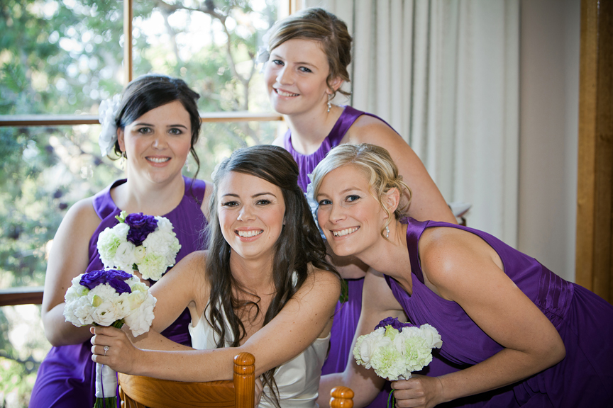 Dodges Ferry Wedding photography. Wedding photography Tasmania - Bridesmaids