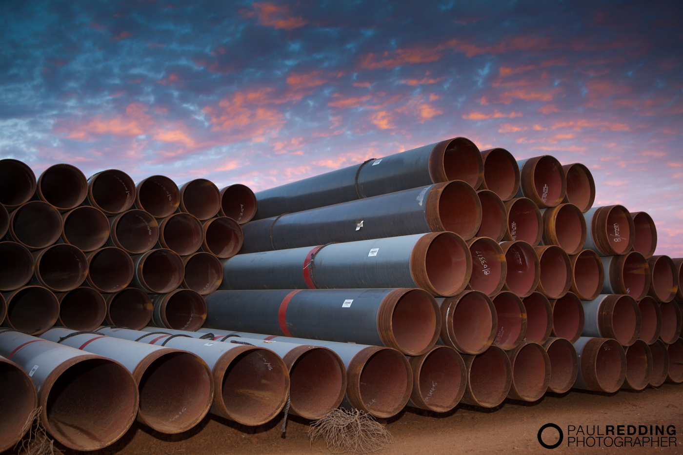 QSN3 Epic Energy - Gas Pipeline construction photography by Industrial Photographer, Paul Redding