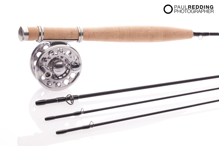 Low cost product photography - Fly Fishing equipment
