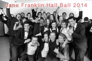Jane Franklin Hall Ball 2014