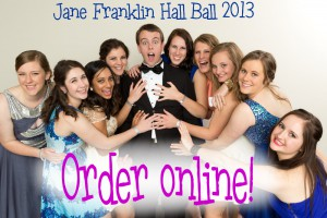 Jane Franklin Hall Ball Photography