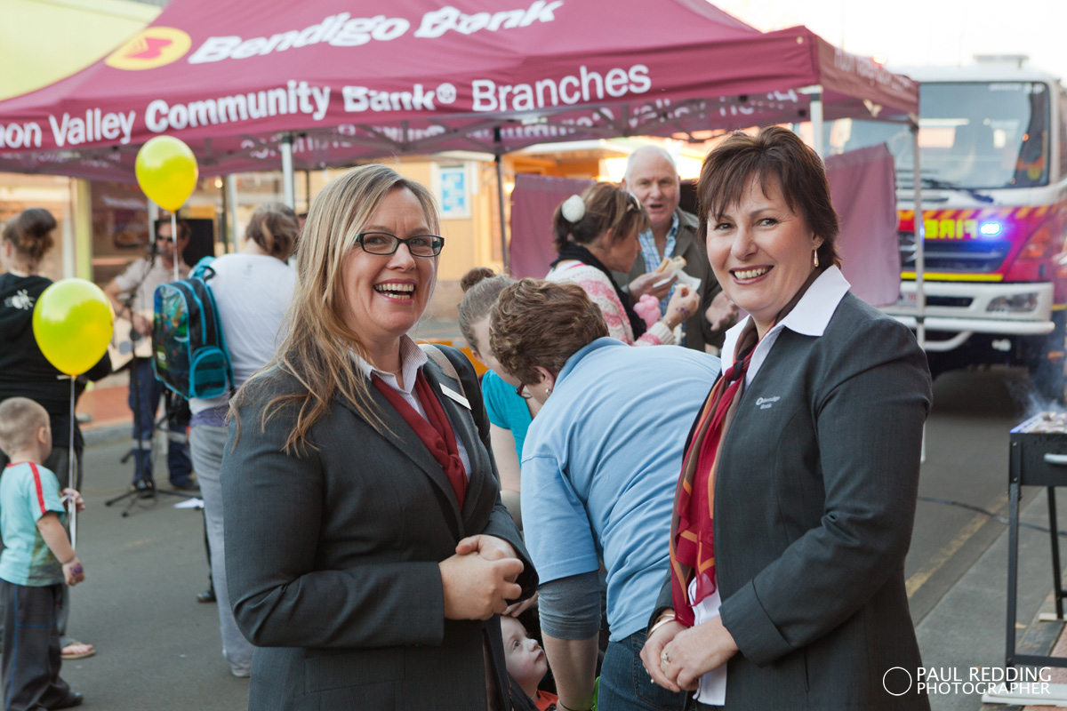 Huon Valley Bendigo Bank by Events Photographer Huon Valley - Paul Redding
