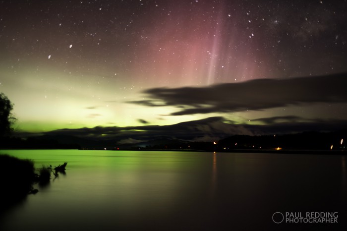 Aurora Australis Glaziers bay  by Paul Redding Photographer Tasmania