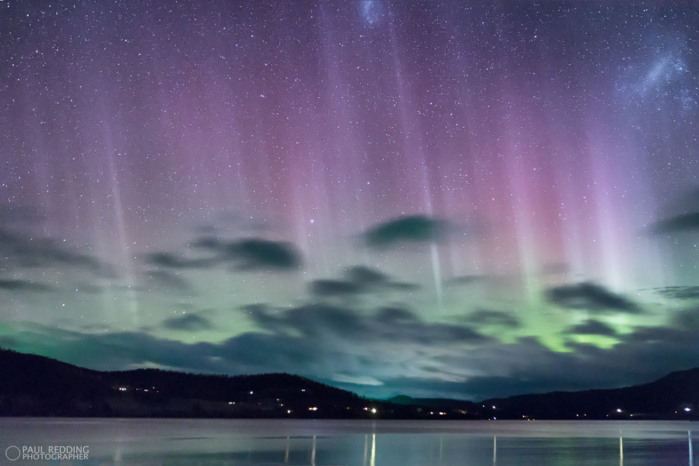 Aurora Australis – Tasmanian style