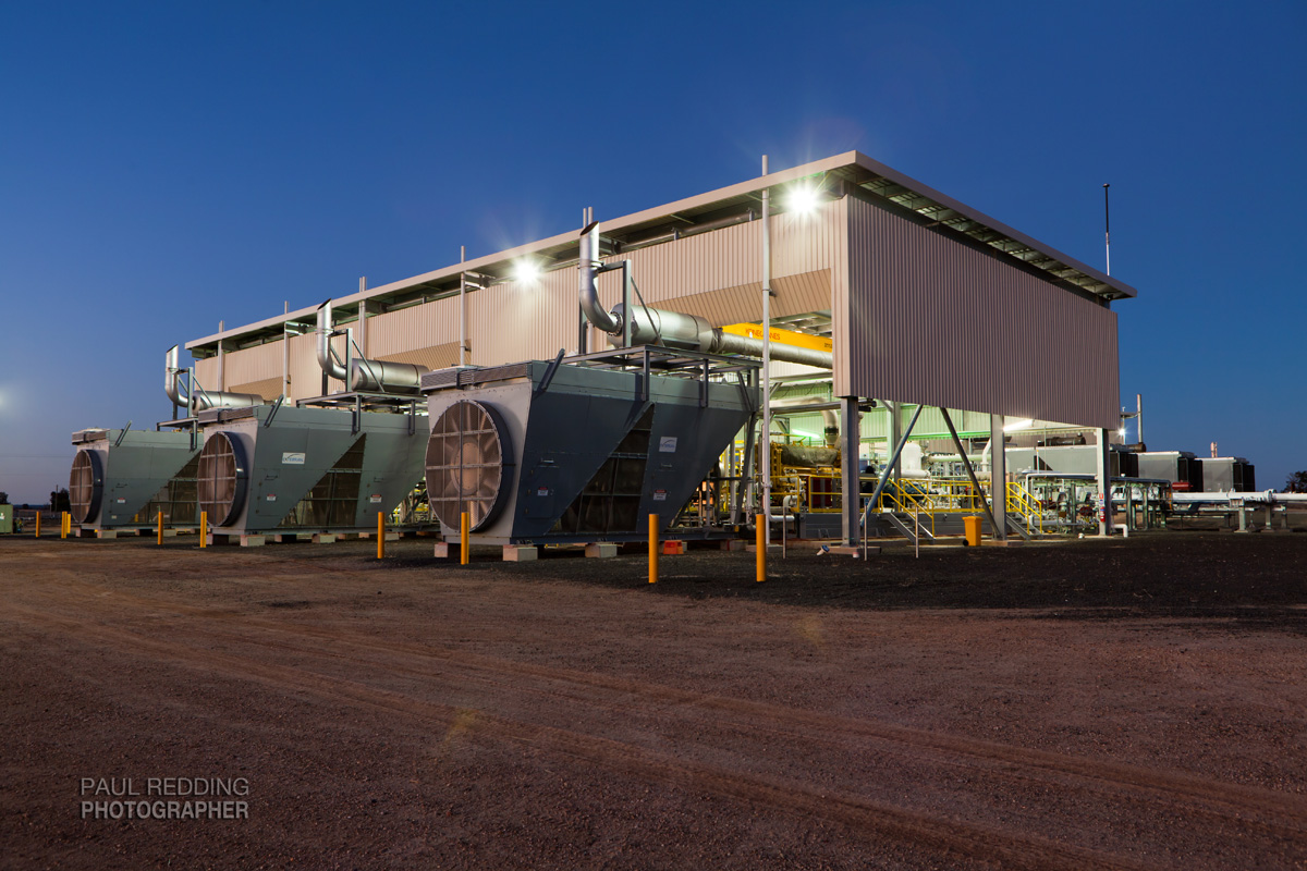Wallumbilla Compressor station Epic Energy QSN3 by Paul Redding Gas Pipeline photographer Tasmania