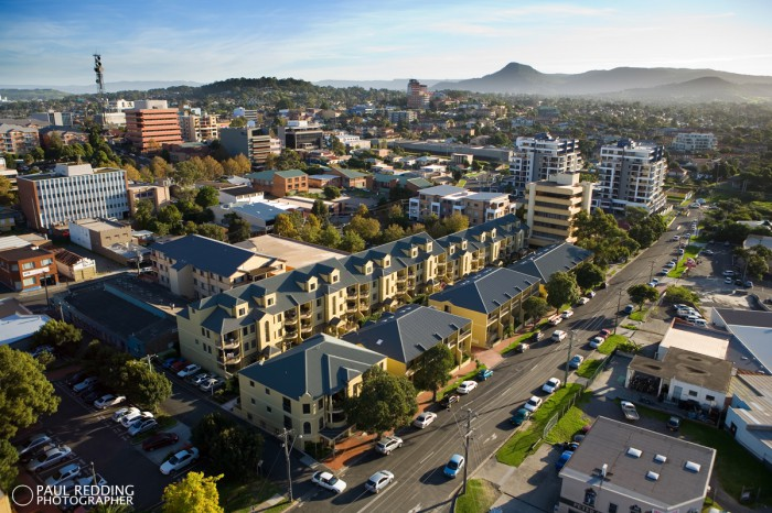 Aerial Architecture Photography by Paul Redding aerial architecture photographer Hobart