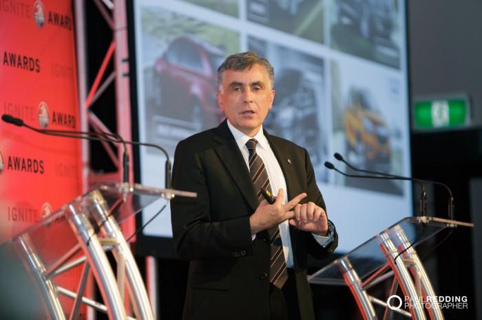 Peter Keley - General Motors Holden Ignite Awards Dinner 12-4-2014. Grand Chancellor Hobart.by Paul Redding - Corporate Events Photographer Hobart Tasmania