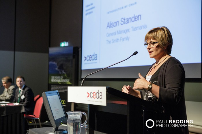 CEDA- Economic and Political Overview 2014 by Paul Redding - Hobart Conference Photographer 14