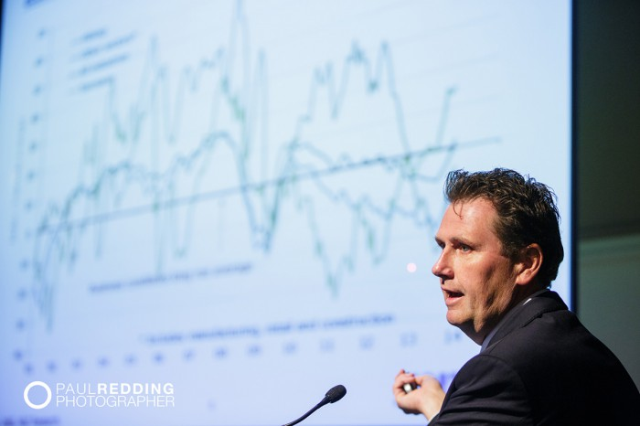 Ivan Colhoun -Chief Economist, Australia, ANZ Banking Group. - CEDA- Economic and Political Overview 2014 by Paul Redding - Hobart Conference Photographer 4