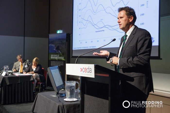 Ivan Colhoun -Chief Economist, Australia, ANZ Banking Group. - CEDA- Economic and Political Overview 2014 by Paul Redding - Hobart Conference Photographer 1
