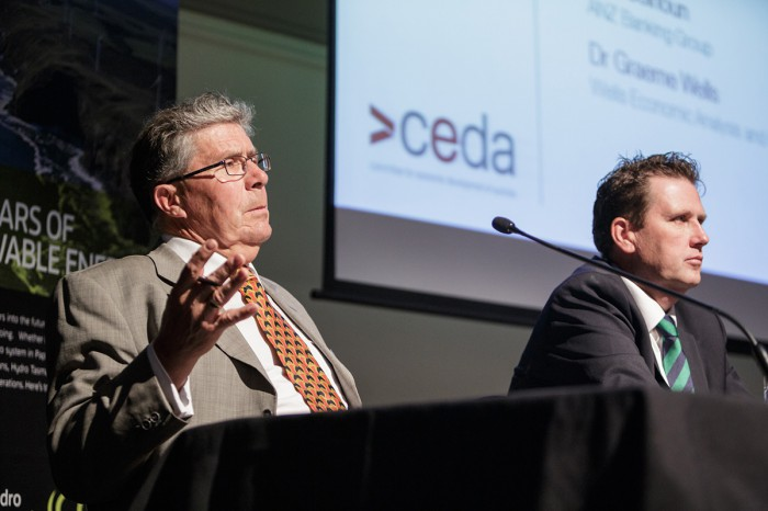 Graeme Wells, Principal, Wells Economic Analysis and, University Associate, University of Tasmania. CEDA- Economic and Political Overview 2014 -5