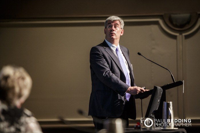 Saul Eslake- Chief Economist, Bank of America Merrill Lynch -CEDA- Economic and Political Overview 2014 by Paul Redding - Hobart Conference Photographer -2