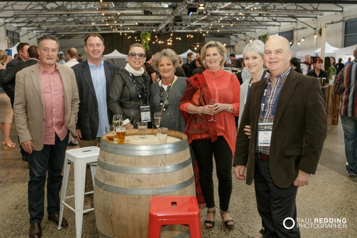 56- Candid group at Insurance Advisernet Australia Conference 2015 - Trade Show at Princes Wharf No 1 Shed. Photography by Paul Redding, Hobart Trade Show Photographer.
