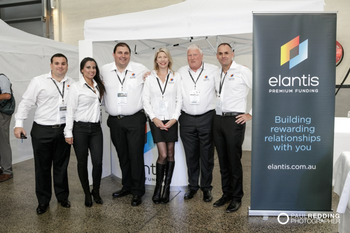 51- Elantis Stand - Insurance Advisernet Australia Conference 2015 - Trade Show at Princes Wharf No 1 Shed. Photography by Paul Redding, Hobart Trade Show Photographer.