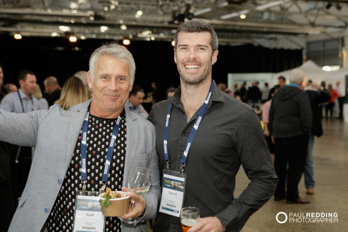 38- Networking at Insurance Advisernet Australia Conference 2015 - Trade Show at Princes Wharf No 1 Shed. Photography by Paul Redding, Hobart Trade Show Photographer.