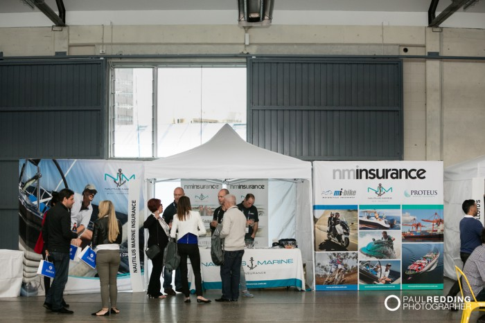 27- nminsurance - Insurance Advisernet Australia Conference 2015 - Trade Show at Princes Wharf No 1 Shed. Photography by Paul Redding, Hobart Trade Show Photographer.