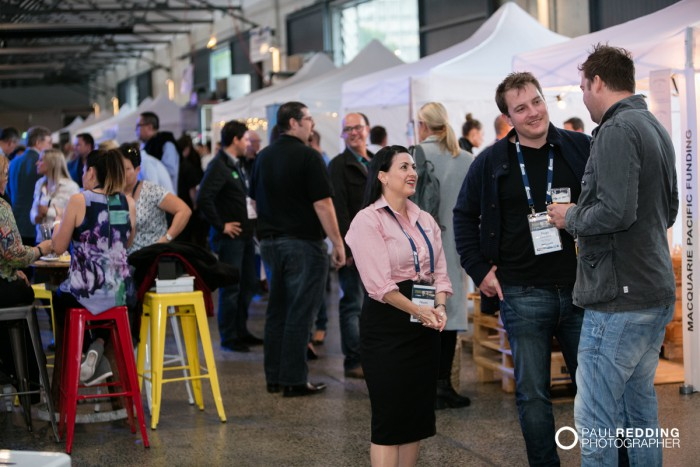 24- Insurance Advisernet Australia Conference 2015 - Trade Show at Princes Wharf No 1 Shed. Photography by Paul Redding, Hobart Trade Show Photographer.