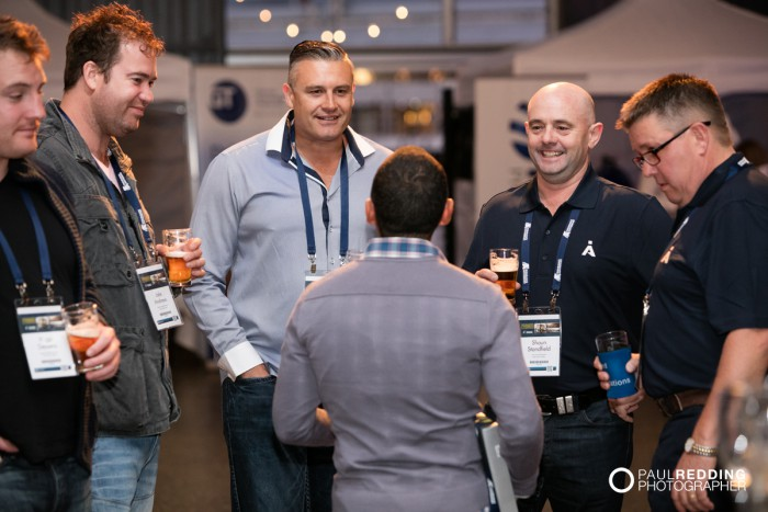 21- Insurance Advisernet Australia Conference 2015 - Trade Show at Princes Wharf No 1 Shed. Photography by Paul Redding, Hobart Trade Show Photographer.