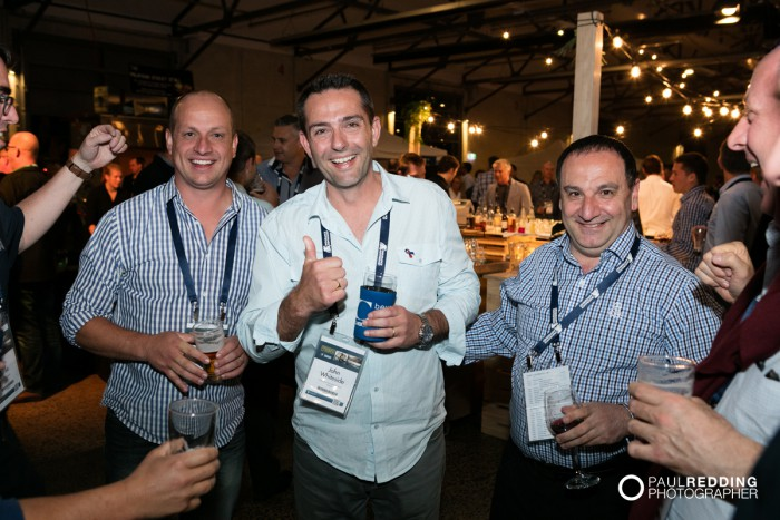 19- Insurance Advisernet Australia Conference 2015 - Trade Show at Princes Wharf No 1 Shed. Photography by Paul Redding, Hobart Trade Show Photographer.