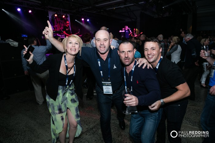 4- The Angels at the Insurance Advisernet Australia Conference 2015 - Trade Show at Princes Wharf No 1 Shed. Photography by Paul Redding, Hobart Trade Show Photographer.