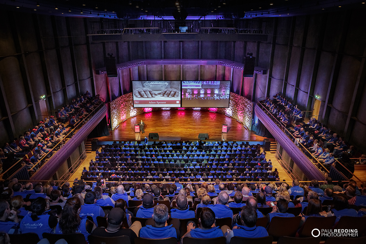 Federation Concert Hall Hobart - Bakers delight Conference 2015. Photography by Paul Redding Photographer Hobart