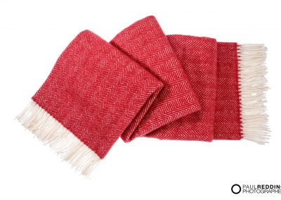 Red Blanket photography MIT by Photography by Paul Redding - Product Photographer Hobart.