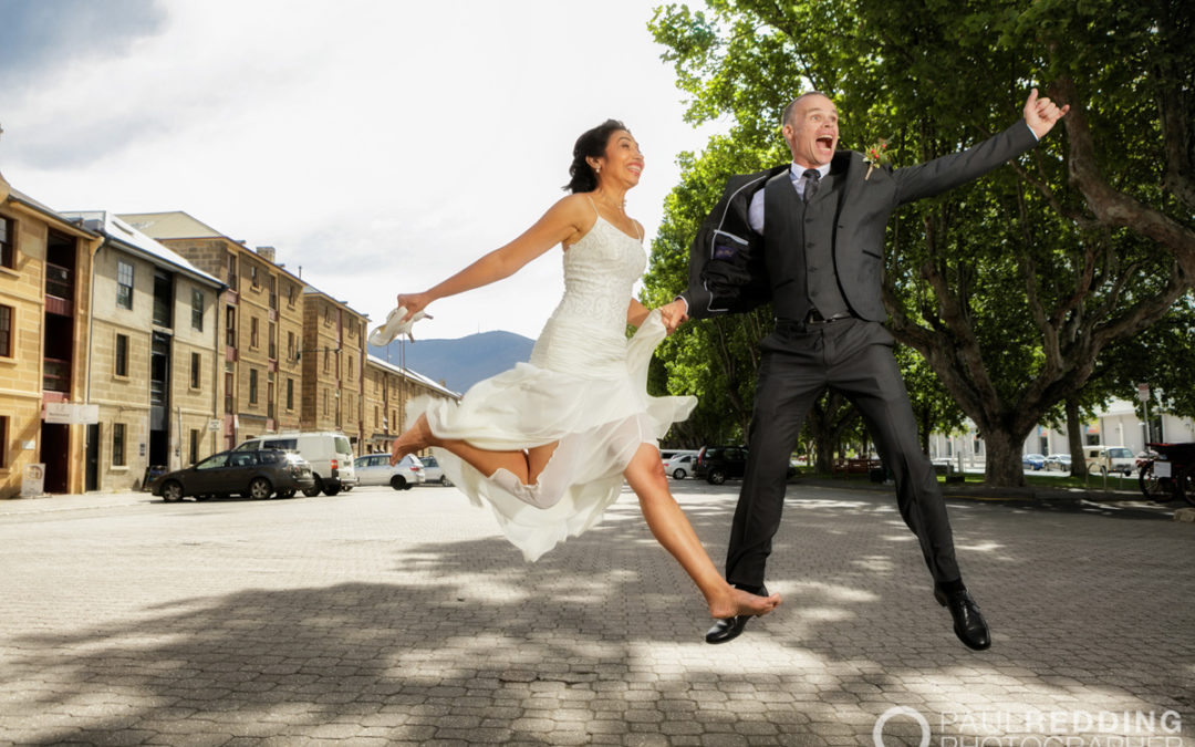 Peter & Marlenis's Wedding at Battery Point 19/11/15. Photography by Paul Redding – Elopement Photographer Hobart