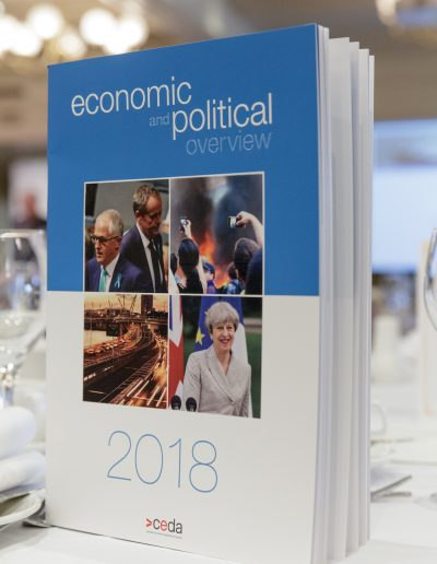 Tasmania Economic and Political Overview 19-2-2018. Wrest Point Hobart