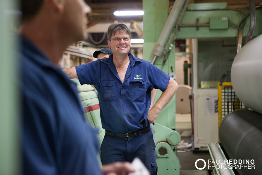Industrial worker - Norske Skog paper mill Boyer TAS