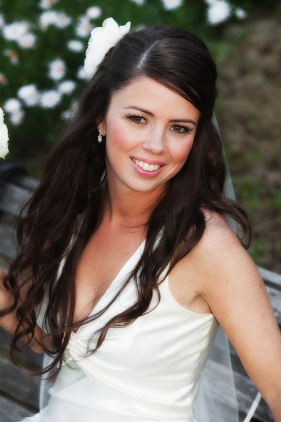 Dodges Ferry Wedding photography. Wedding photography Tasmania - Pre-ceremony bridal portrait