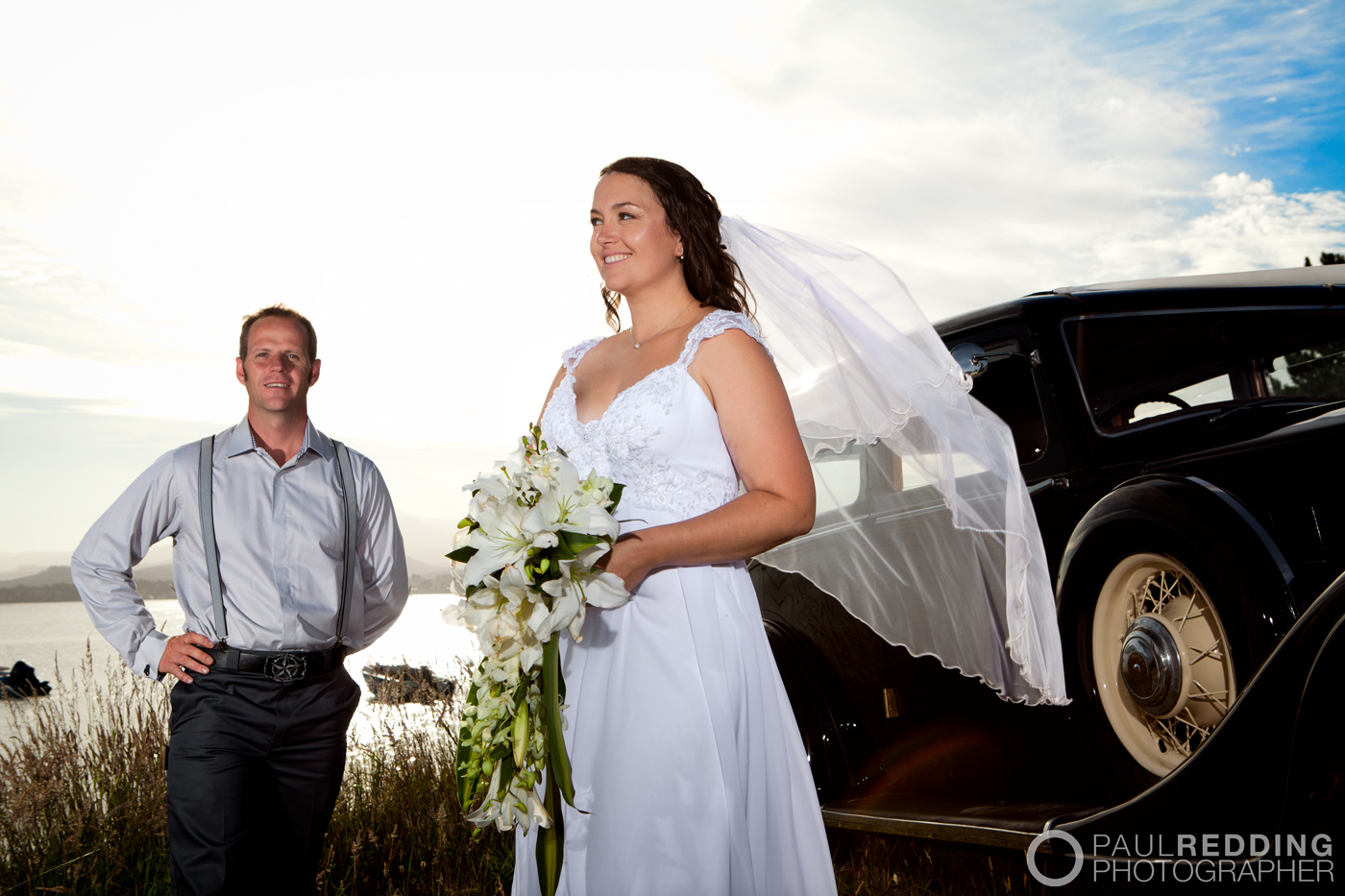 Wedding photography at Dover, Huon Valley, Tasmania by wedding photographer Paul Redding.