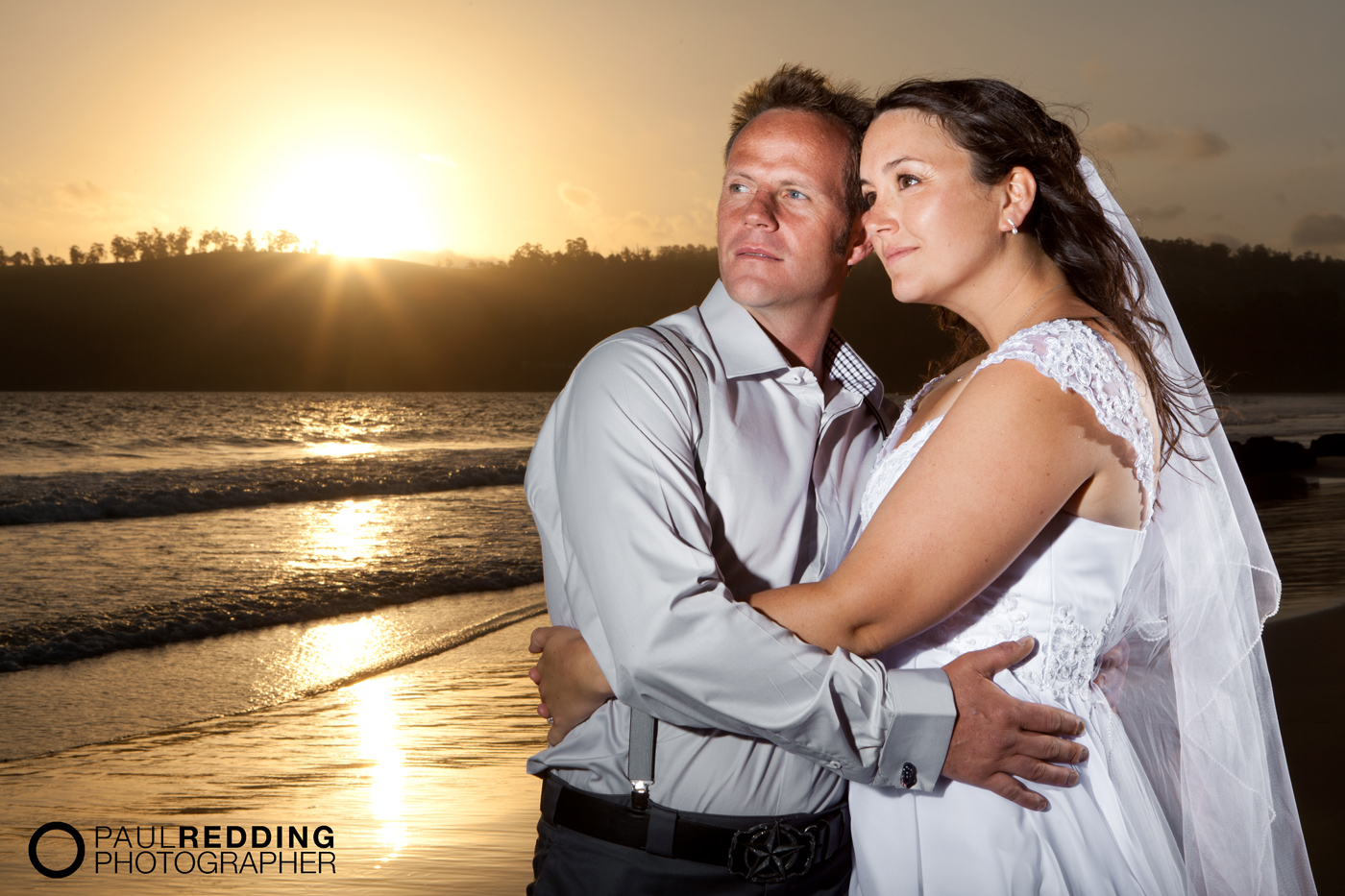 Lydia and Jarrod's Wedding photography by Hobart wedding photographer- Paul Redding