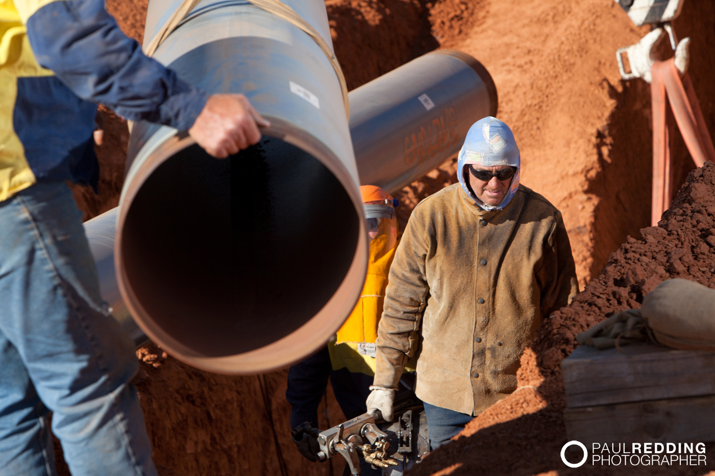 Epic Energy QSN3 – Photography by Paul Redding Gas Pipeline Photographer