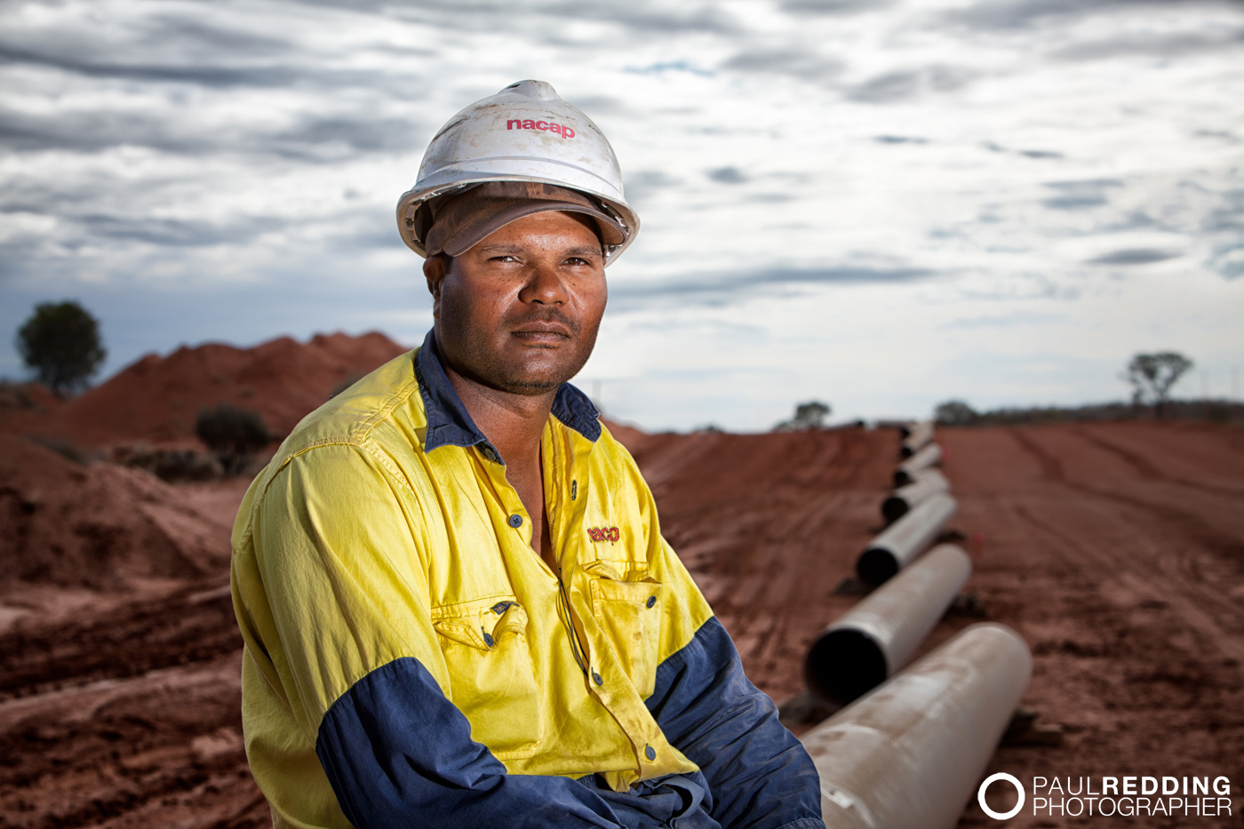 QSN3 Epic Energy -Gas  Pipeline construction photography by Industrial Photographer, Paul Redding