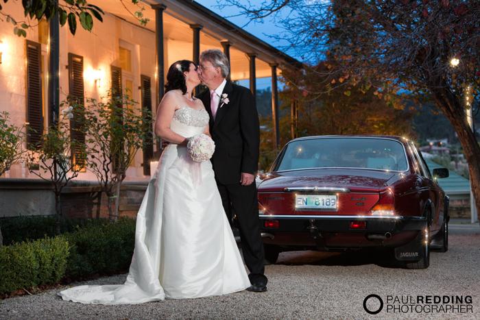 Karen Munro & Kevin Palmer – Hobart Wedding 21/4/2012