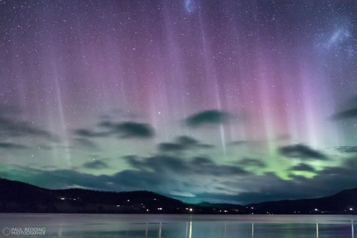 Southern aurora Tasmania 30-6-13