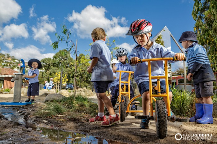 Waimea Heights Primary School Kinder by Paul Redding - Public Relations Photographer Hobart