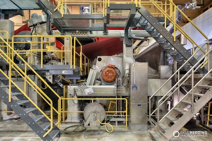 Optiload | Norske Skog Paper Mill Boyer PM2 Conversion - Paul Redding , Paper Mill Photographer Tasmania