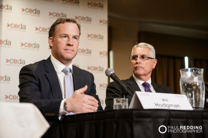 Will Hodgman- - CEDA- Economic and Political Overview 2014. Hobart Conference Photographer