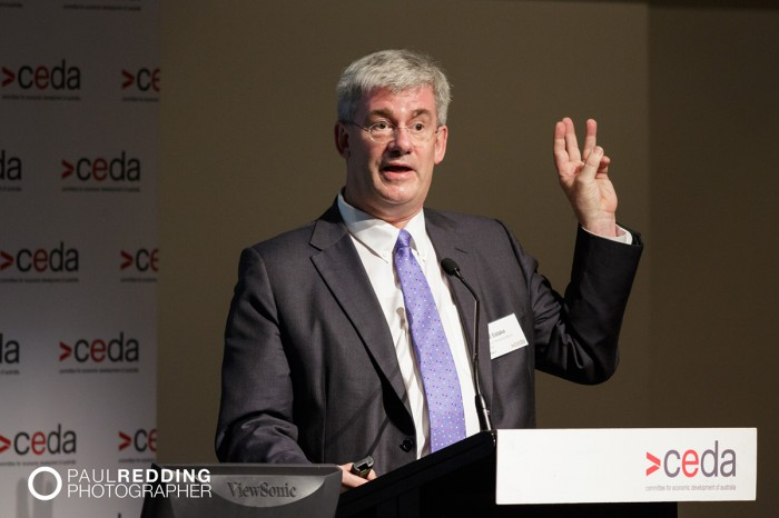 CEDA- Economic and Political Overview 2014 by Paul Redding - Hobart Conference Photographer