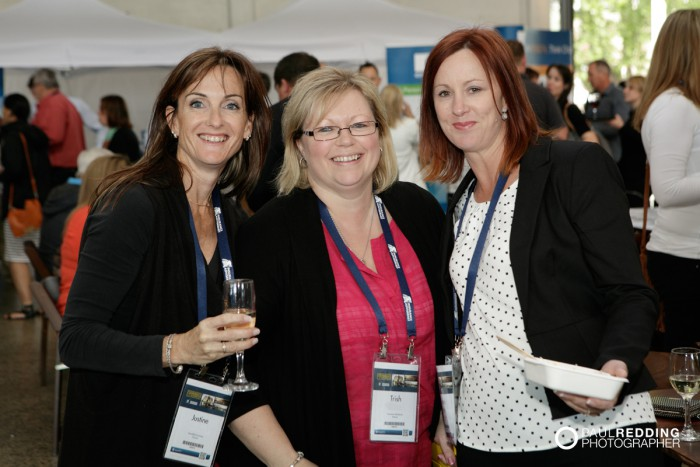 55- Candid group at Insurance Advisernet Australia Conference 2015 - Trade Show at Princes Wharf No 1 Shed. Photography by Paul Redding, Hobart Trade Show Photographer.