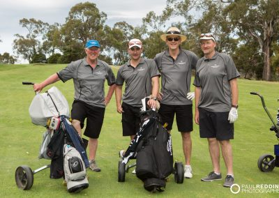 IAA Conference 2015 Golf Day. Teams on the fairway Tasmania Golf Club. Photography by Conference Activities Photographer, Paul Redding - Hobart 15