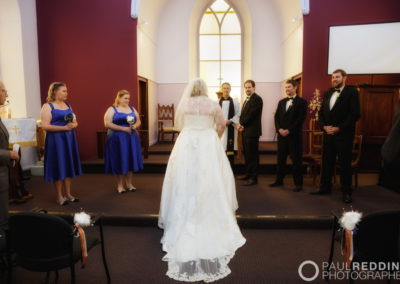 W835_164a-- St Georges Anglican Church Sorell Tasmania by Paul Redding Photographer Hobart. Fun Wedding photography