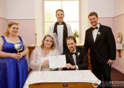 W835_250-- St Georges Anglican Church Sorell Tasmania by Paul Redding Photographer Hobart. Fun Wedding photography