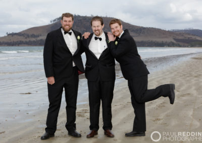 W835_471--Fun Wedding photography Seven Mile Beach Tasmania by Paul Redding Photographer Hobart