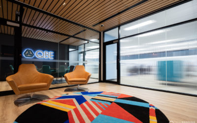 Renascent – Refurbishment QBE Hobart. Hobart Architecture Photographer Paul Redding