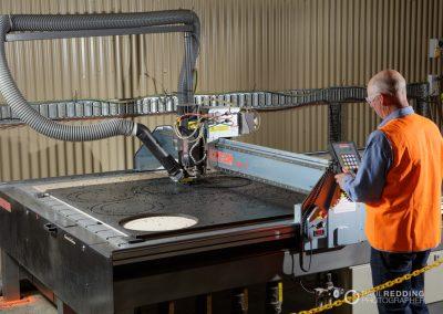 Plastic welding photographer.Mitchell Plastic Welding. Fish Pen Construction Photography by Paul Redding Photographer Huon Valley